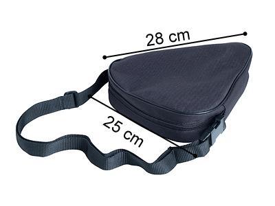 Ersatztasche für Faltstock schwarz
