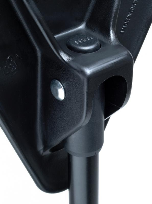 Sitzstock faltbar mit Tasche schwarz