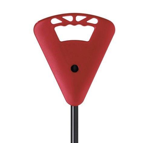 Sitzstock verstellbar schwarz-rot