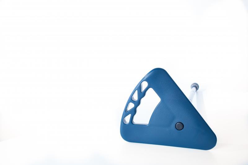 Flipstick Teleskopstock extra lang blau