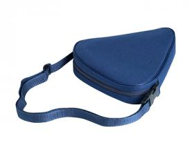 Sitzstock extra kurz faltbar mit Tasche blau
